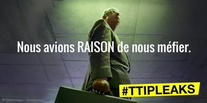 TAFTA : cinq premiers enseignements des documents révélés par Greenpeace