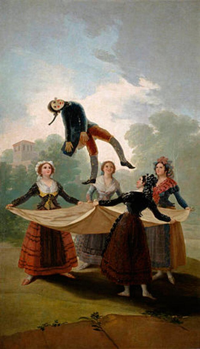El Pelele © Goya