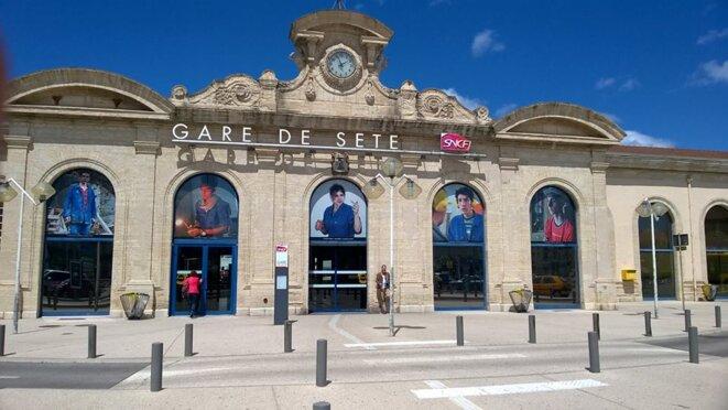 La gare de Sète, mai 2016