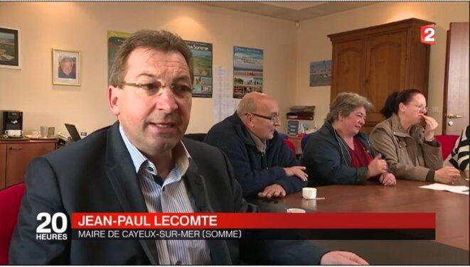 Le maire divers droite vendant son action comme le nec plus ultra [capture d'écran France 2]