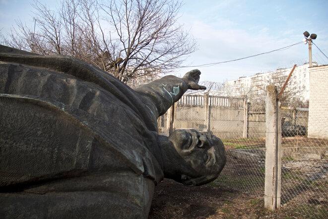 El Lenin de Zaporijia, al sureste de Ucrania. © Laurent Geslin