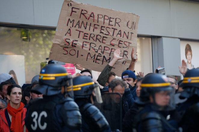 Manifestation le 1er mai © Reuters