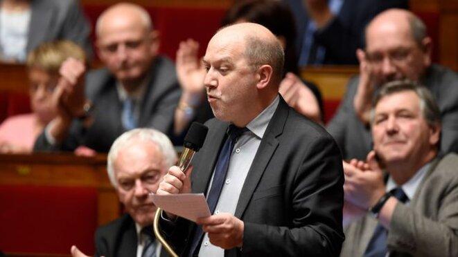 Denis Baupin, lors d'une séance de questions à l'Assemblée. © Reuters
