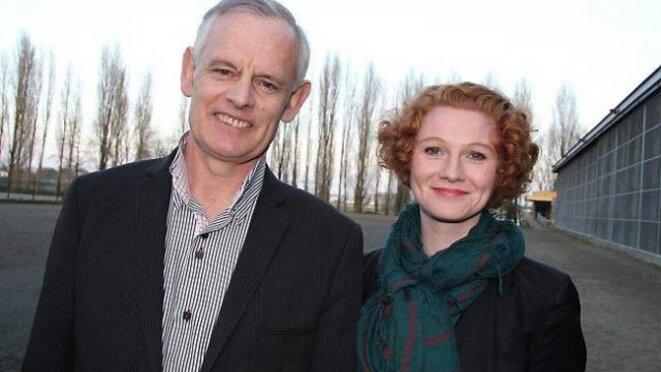 Elen Debost lors de la campagne pour les cantonales en 2015.