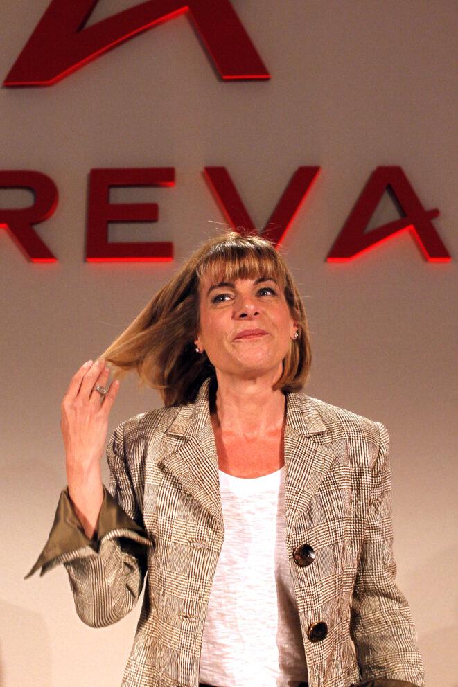 Anne Lauvergeon en mars 2010. © Reuters