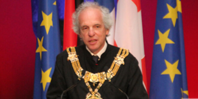 Alain Beretz, président de l'UNISTRA. © Eurojournalist(e)