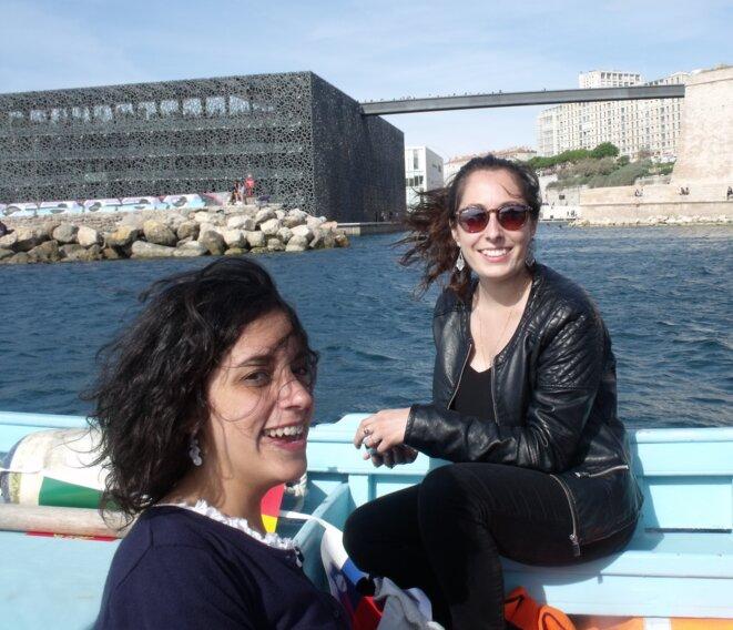© Ces étudiantes italiennes sont à Marseille grâce au programme Erasmus. Ce programme européen d'échanges étudiants permet une mobilité d'études ou une mobilité de stage en entreprise, ou encore les 2 combinées. Ph L