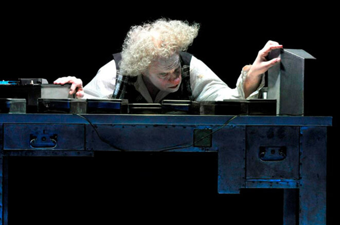 Jacques Weber dans  Krapp et inversement © Dunnara Meas
