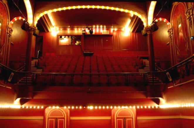 la salle du théâtre de l'Oeuvre © dr