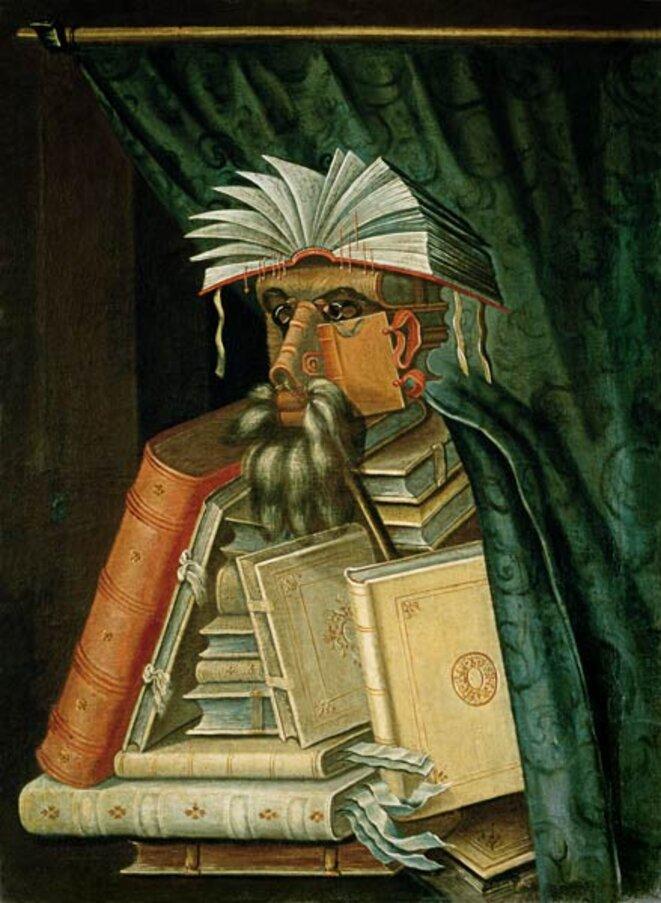 Le bibliothécaire © Arcimboldo