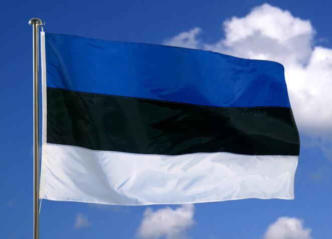 Drapeau de l'Estonie © Médiathèque CE