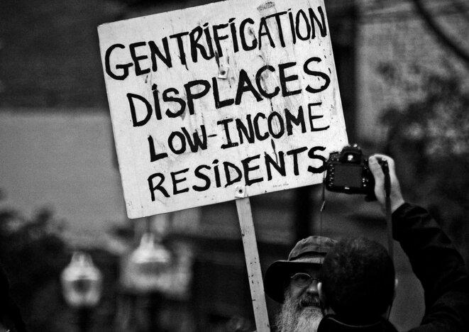 """Manifestation pour le """"droit à la ville"""""""