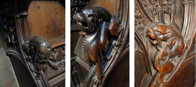 Choeur de la cathédrale d'Auch (Gers), Ph. YF