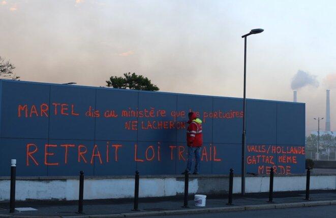 Au Havre, le 19 mai 2016 © MG