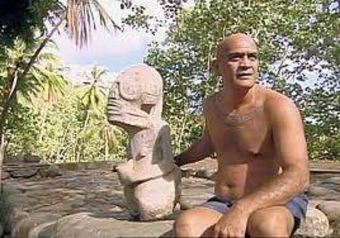 Lucien RO'O TEIKIKEUHINA KIMITETE à NUKU HIVA. (1952 - 23. 05. 2002).