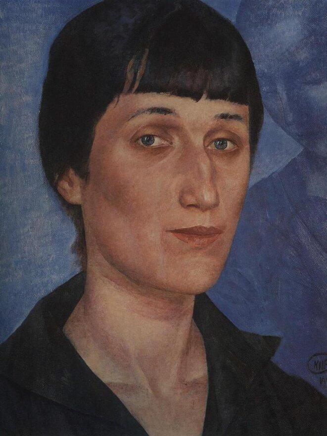 kuzma-petrov-vodkin-portrait-of-anna-akhmatova-1922