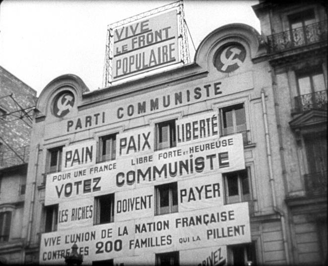 Le siège du Parti communiste en 1936