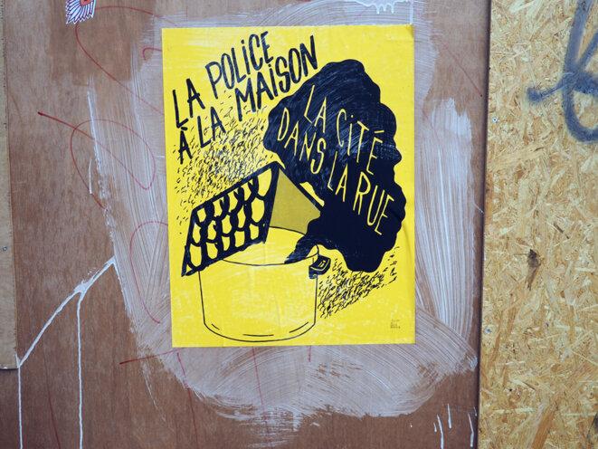 Affiche de l'Atelier de Grève rennais