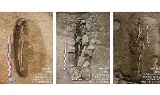 Tombes musulmanes, découvertes à Nîmes © Pierre Pinta