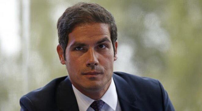 Mathieu Gallet, président de l'INA de 2010 à 2014, aujourd'hui patron de Radio France © Reuters