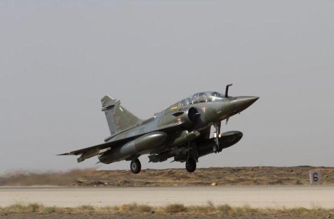 Avion français au décollage sur la base jordanienne. 3.600 sorties aériennes ont été réalisées. © (Défense)