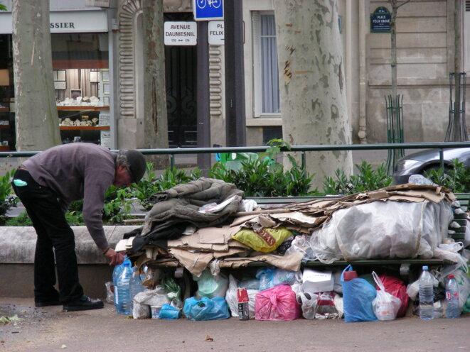 Sans-abri, Paris [Ph. YF]