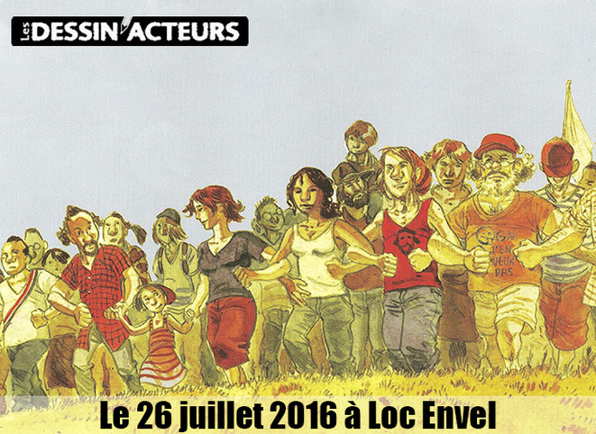 Les Dessin'Acteurs © AlterTour