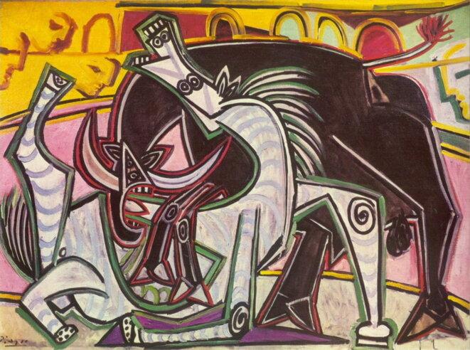Course de taureaux, 1934
