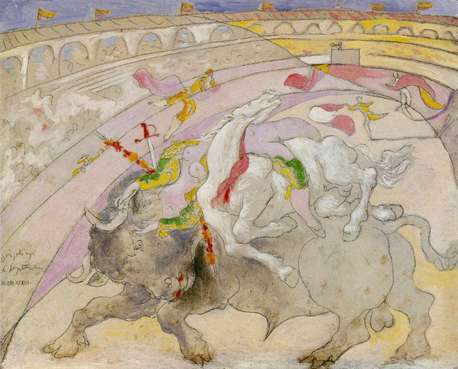 La mort de la femme torero, 1933