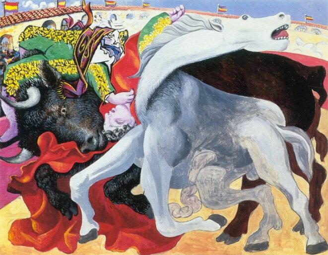 La mort du torero, 1933