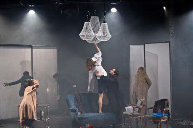 """Scène de """"Ceux qui errent ne se trompent pas"""" © Jean-Louis Fernandez"""