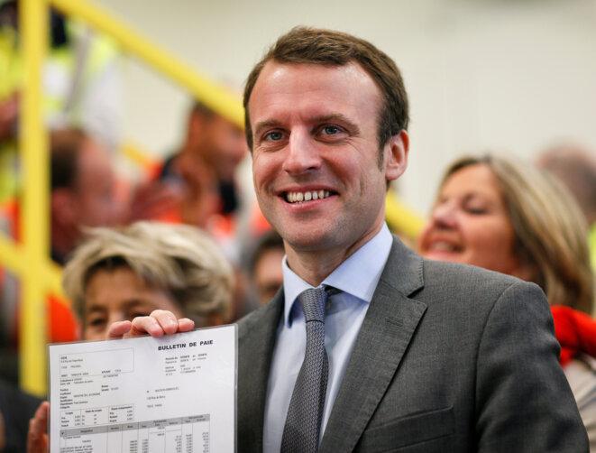 Emmanuel Macron, le 3 mai 2016 © Reuters