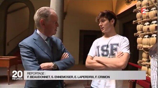France 2 journal de 20h le 31 mai 2016 [capture d'écran YF]