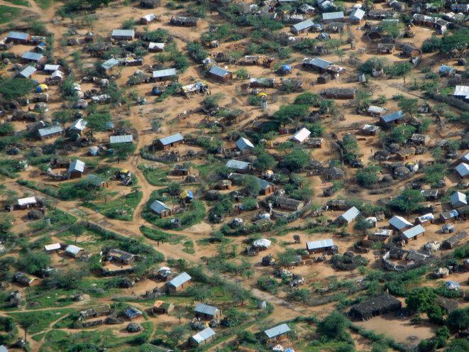 Vue aérienne du camp de Dadaab © Lieuwe Montsma - Novembre 2006