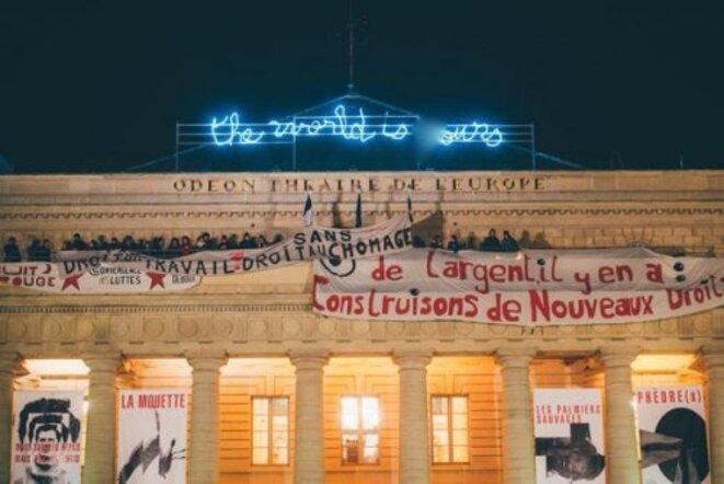 Occupation du théâtre de l'Odéon, avril 2016
