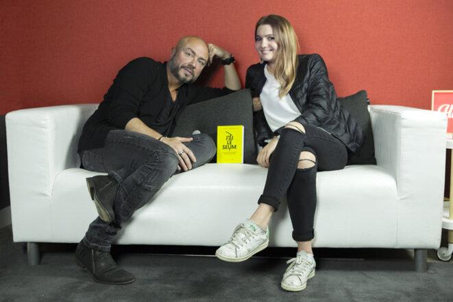 David Kuhn et Violette Duplessier © DR