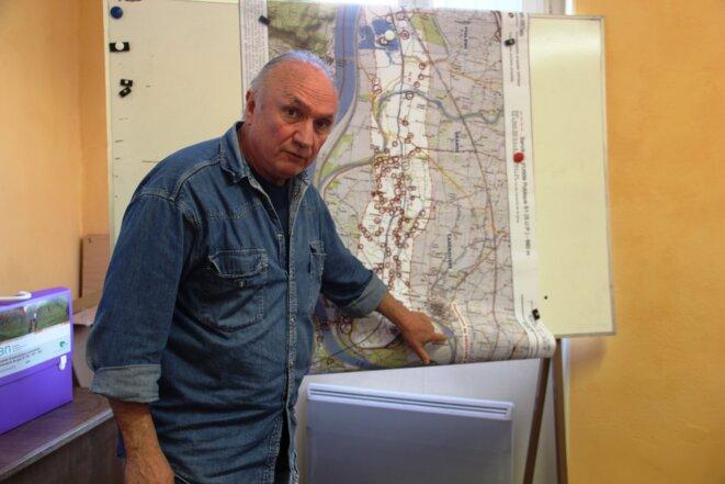 Yves Furic, conseiller municipal de Caderousse : « Le comble ? On ne sera pas raccordé au gaz pour autant ! » © Nicolas Barriquand