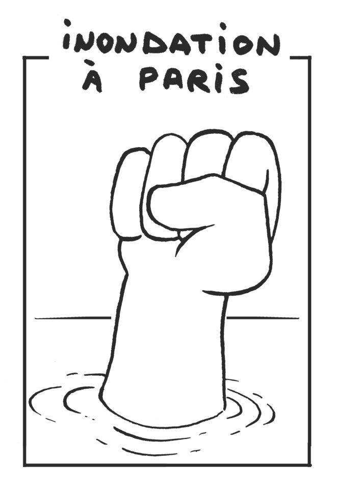 Inondation à Paris © vinch