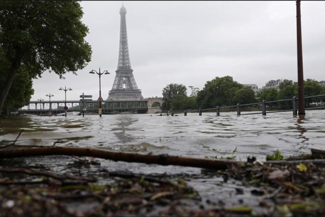 La Seine à Paris, le 3 juin 2016 © Reuters/Philippe Wojazer