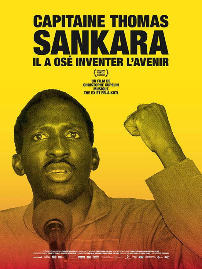 Affiche du film Capitaine Thomas Sankara projeté le 18 Mai