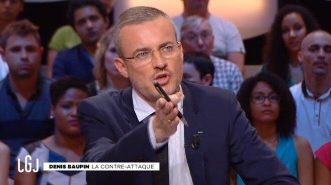 Emmanuel Pierrat, au Grand Journal de Canal+.