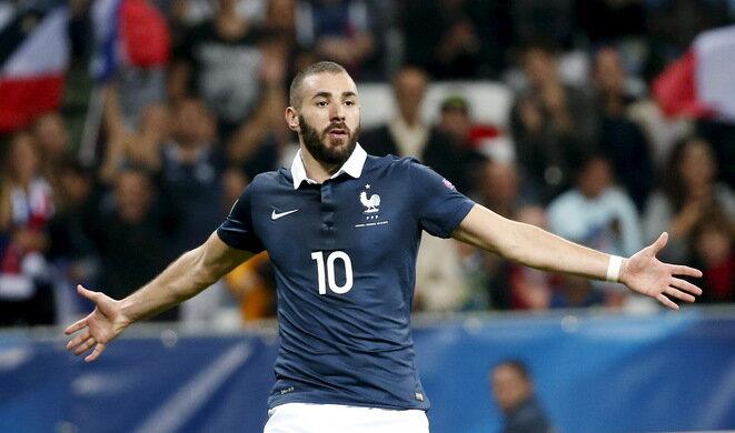 Karim Benzema, cuando formaba parte del equipo de Francia. © Reuters