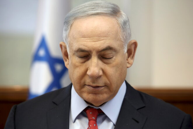 Benyamin Netanyahu, April 2016. © Reuters