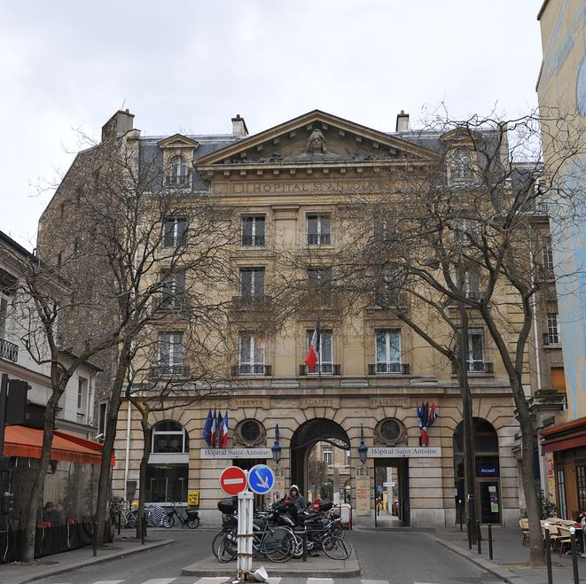 L'hôpital Saint-Antoine, à Paris. © DR