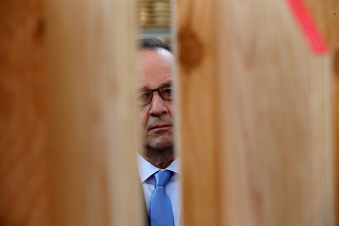 François Hollande, 9 juin 2016. © Reuters