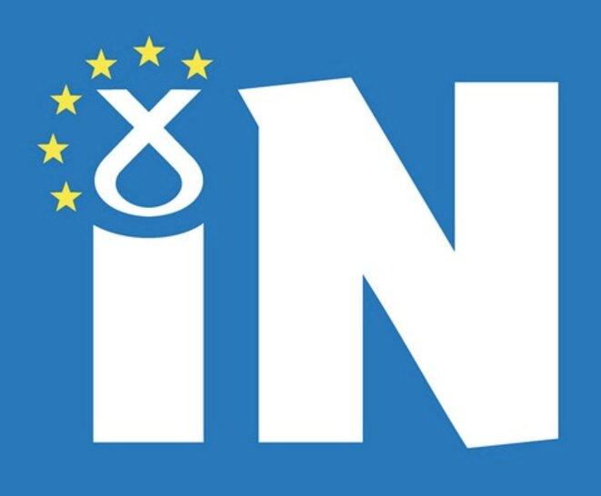 Le logo de la campagne du SNP pour le « in »