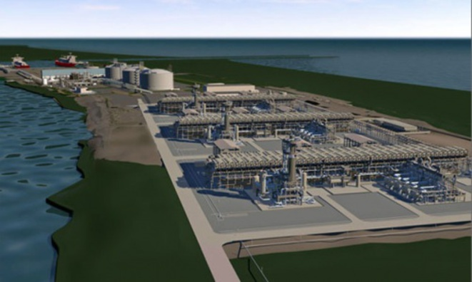 Yamal LNG prévoit la construction d'une usine de liquéfaction de gaz naturel alimentée par le gisement de Yuzhny Tambei, d'un terminal maritime, d'un aéroport et d'une flottille de cargos