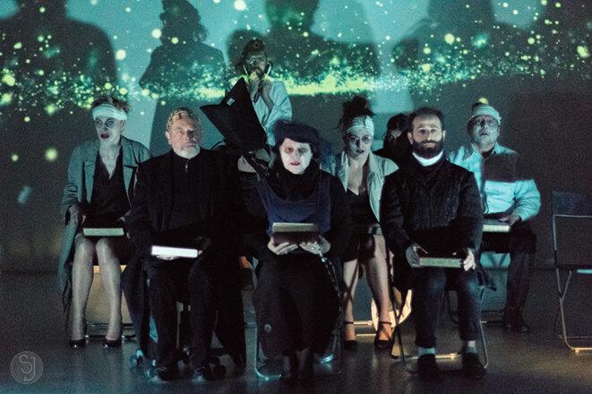Un théâtre troublant, déstabilisant, éprouvant aussi (Crédit photo : Stéphane Jacquemin)