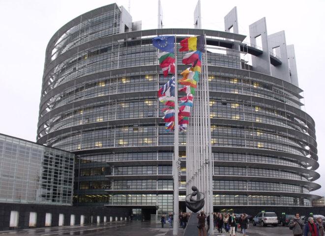 Parlement Européen de Strasbourg © Philippe LEGER