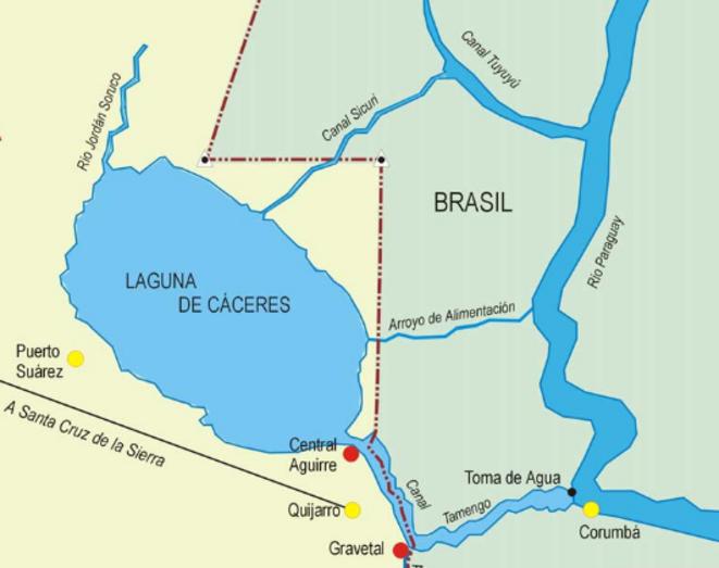 Lagune Caceres